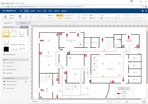 Software Floor Plan by Logos Amp Images Smartdraw Software