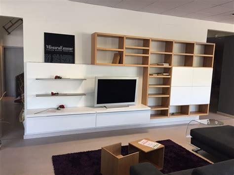 Libreria Misuraemme - misuraemme soggiorno crossing laccato opaco librerie design