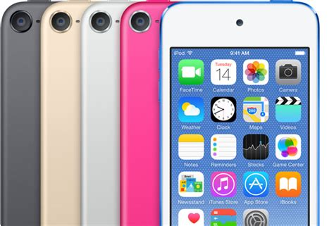 apple releases sixth ipod touch with a8 processor 8