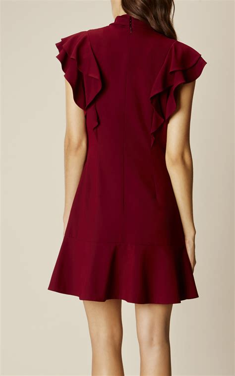 Dress Ruffel by Ruffle Dress Karenmillen