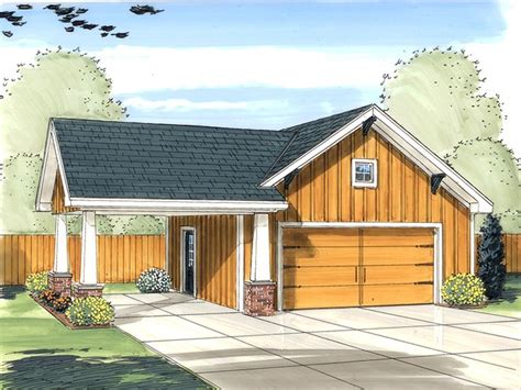 Carport And Garage Designs Garage Plans With Carport 2 Car Garage Plan With Carport