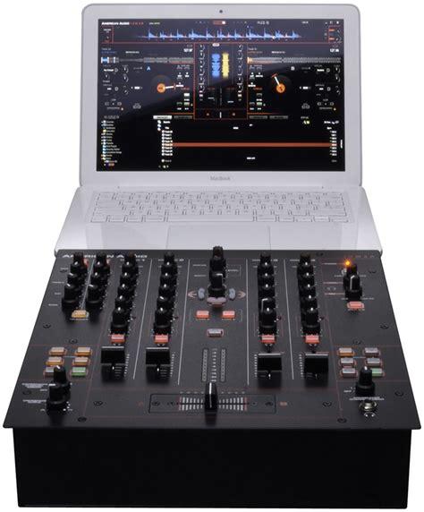 Audio Mixer American Standard american audio 14 mxr 4 channel midilog dj mixer pssl