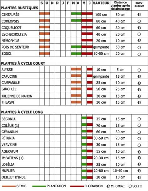 Calendrier Des Semis 25 Melhores Ideias Sobre Calendrier Des Semis No