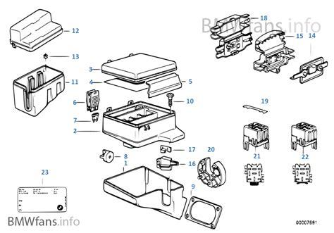 bmw 525 tds fuse box free wiring diagrams