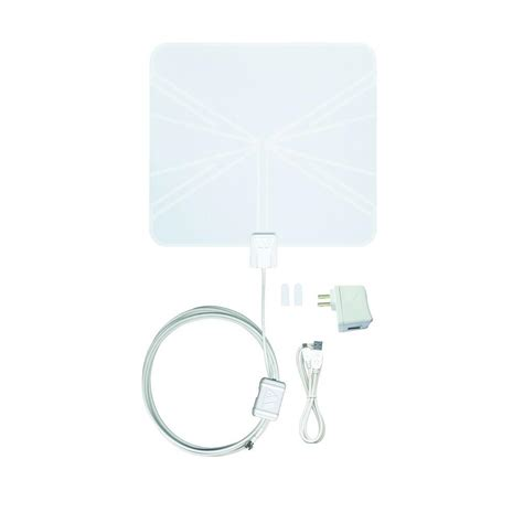 winegard flatwave ed digital hd indoor lified tv antenna fl5500s the home depot