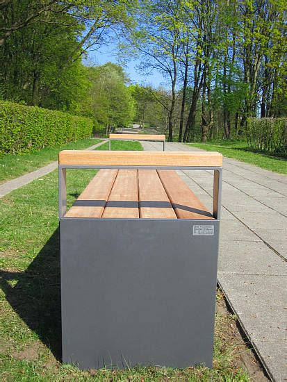 bench profile park benches seats and tables made of steel and wood