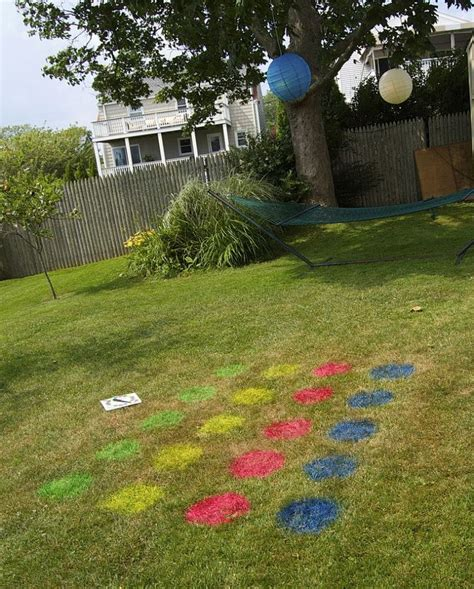backyard twister every year we throw a fourth of july party for the