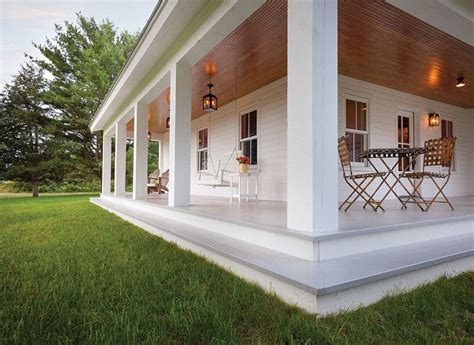 porch steps porch  painted wood floors  wooden
