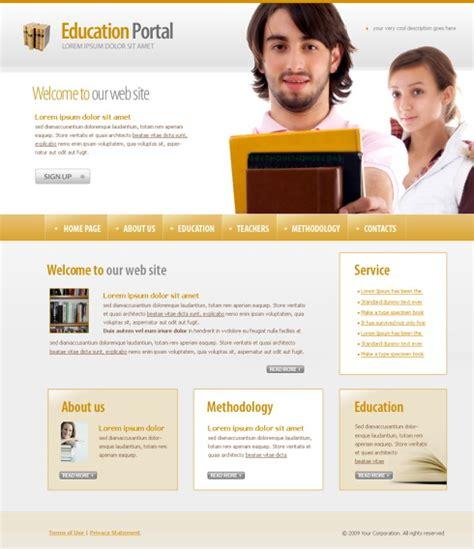 university website templates university html template 4369 education kids