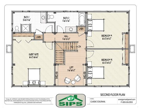 colonial floor plans two story classic colonial house plans numberedtype