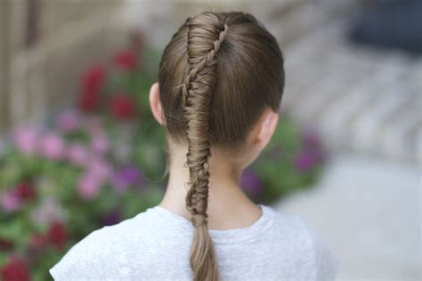 Ladder Hairstyle by Hairstyles Ladder Braid Wallpaper