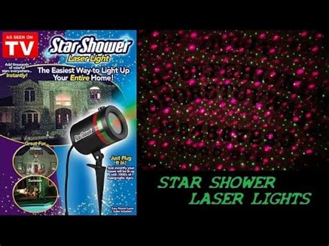 star shower laser light reviews star shower motion review how does it really work doovi