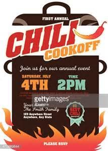 Chili Cook Template by Picnic And Barbecue Chili Cookoff Invitation Design