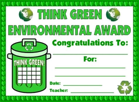 certificate of recycling template st s day and march sticker charts incentive