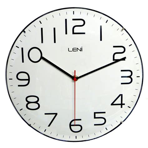 clock buy buy leni classic wall clock white purely wall clocks