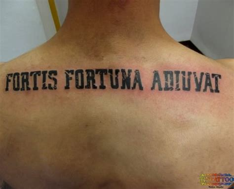 fortes fortuna juvat tattoo fortes fortuna adiuvat pictures to pin on