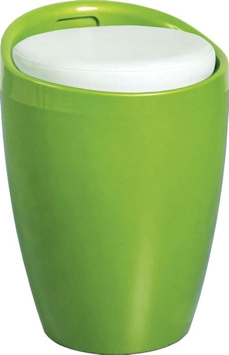 Soft Green Stool by Wizard Storage Stool Green White Buy At Qd Stores