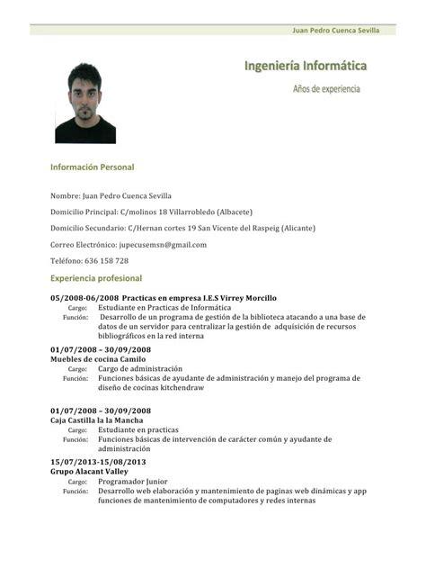 Modelo Curriculum Vitae Higienista Dental modelo de curriculum vitae filetype doc images