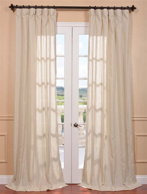 natural drapes trinidad natural linen blend stripe curtain contemporary