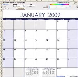 Free Excel Calendar Template by Excel Calendar Template For 2016 And Beyond