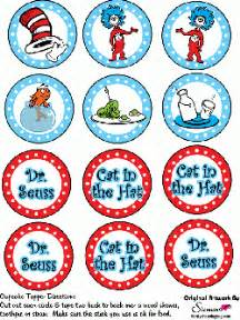 cupcake toppers dr seuss party decorations free