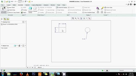 pattern a sketch in creo pattern sketch in creo how to make a 2d drawing in creo
