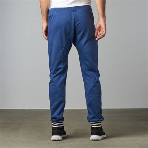 Cotton Lab Essential Jogger Washed Navy Washed zarrow drop crotch jogger navy xs zutoq touch of modern
