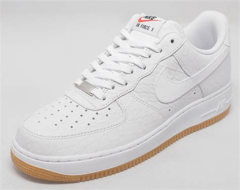 Nike Air 1 Low Leather All White nike air 1 low white croc gum this one is for