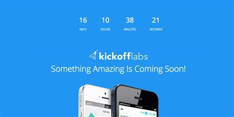 Best practices for coming soon launch pages ? KickoffLabs Support