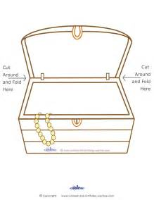 treasure chest template blank printable treasure chest coolest free printables