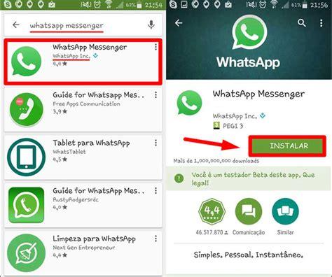 tutorial como instalar o whatsapp como baixar e instalar o whatsapp baixar aplicativo whatsapp