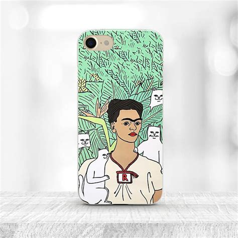 frida kahlo iphone 7 rip n dip cat frida iphone 7 plus