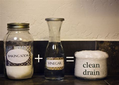 clean bathtub drain with baking soda and vinegar clean your drains with baking soda and vinegar surprise