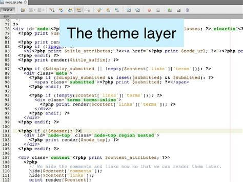 drupal theme layer learn drupal s most powerful site building modules