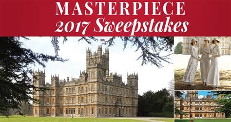 Pbs Masterpiece Sweepstakes - sweepstakesmag weekly roundup december 11 december 17 2016