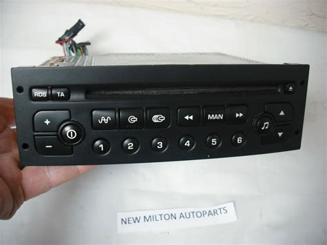 peugeot radio code peugeot 206 307 radio cd player vdo psarcd100 01 no code