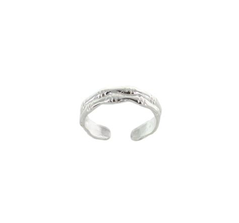 simple sterling silver toe ring best of everything