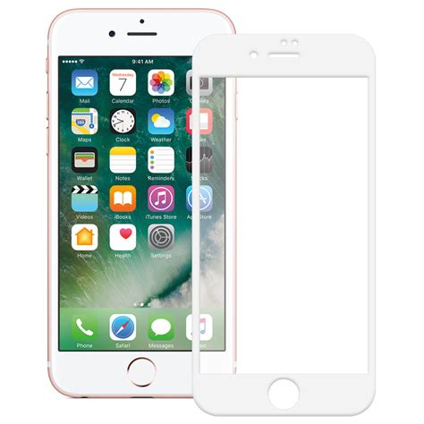 Temperred Glass Iphone 8 tempered glass screen protector apple iphone 8 7 white