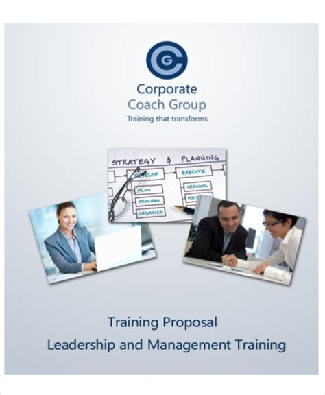 training proposal letter 10 sle letters sle templates