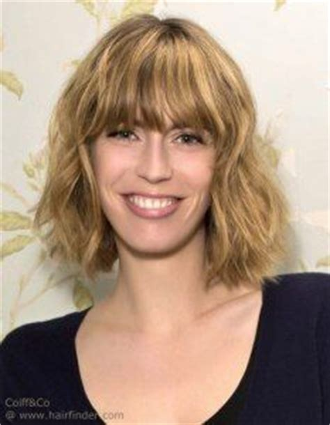 1962 neckline hair cuts mid neck length bob hairstyle with wavy messy styling and