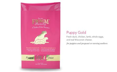 fromm puppy puppy gold food fromm family foods