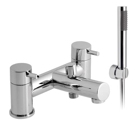 bathtub mixer taps vado zoo deck mounted 2 hole bath shower mixer tap with kit