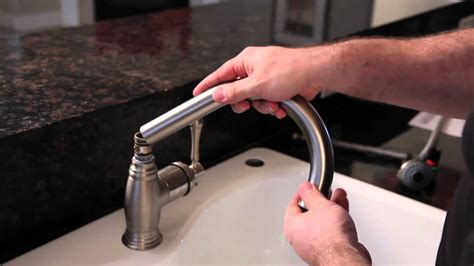 youtube replace kitchen faucet how to install a kitchen faucet build com youtube