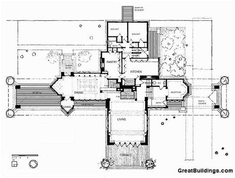 ward willits house plan 1000 images about mimar frank lloyd wright architect frank lloyd wright on pinterest