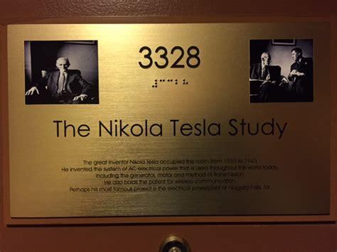 Where Did Nikola Tesla Study Building Circuits In Nikola Tesla S Study So Cal Engineer