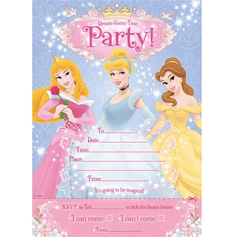 Happy Birthday Princess Card Template by Princess Birthday Invitation Card Template Birthday Tale