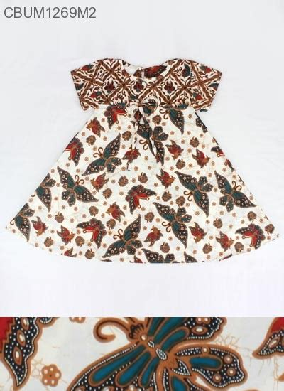 Dress Kipas dress anak motif kipas dress murah batikunik
