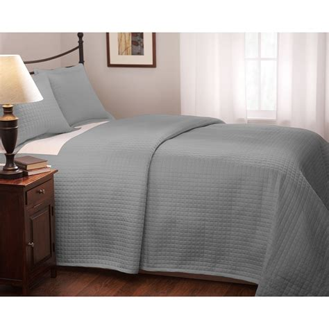 full size coverlet roxbury park quilted full queen size platinum coverlet