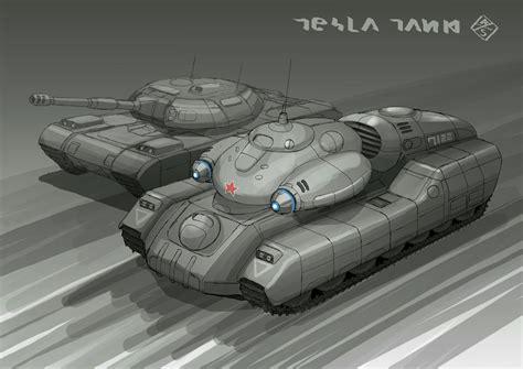 Tesla Tank Tesla Tank A By 4 X S On Deviantart