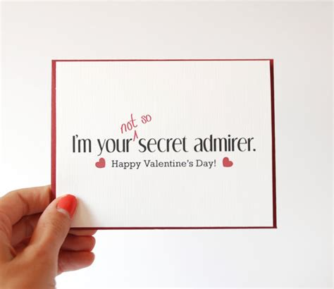 s card secret admirer card designs 60 s day cards